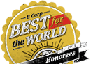 Best for the world 2013 badge