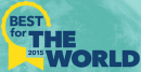 Best for the world 2015 badge